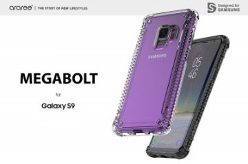 ab18ec0bde araree、個性的なデザインのGalaxy S9専用クリアケース発売