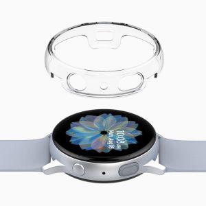 Galaxy Watch Active用 ハードクリアケース Nu:kin