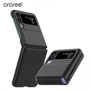 【Galaxy Z Flip3 5G ケース】Aero Flex ブラック ギャラクシー ゼット フリップ カバー