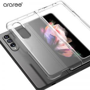 【Galaxy Z Fold3 5G ケース】NUKIN クリア ギャラクシー ゼットフォールド 保護 カバー