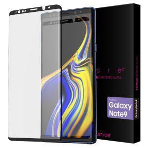 Galaxy Note9 保護強化ガラスフィルム Core Platinum