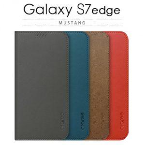Galaxy S7 edge 手帳型ケース MUSTANG