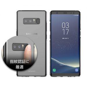 Galaxy Note8 ケース Nu:Kin