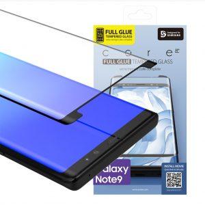 Galaxy Note9 保護強化ガラスフィルム FULL GLUE Core Platinum